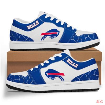 Buffalo Bills 2020 Football Team Logo Sneakers