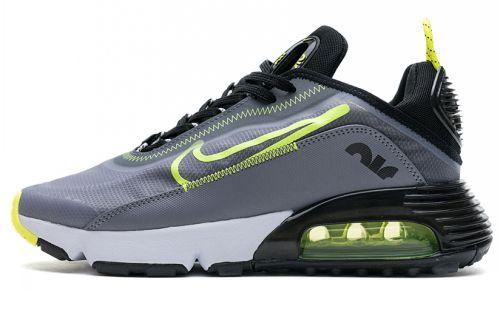 CT7698-011 Air Max 2090 Grey Black Fluorescent Green