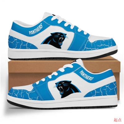 Carolina Panthers 2020 Football Team Logo Sneakers