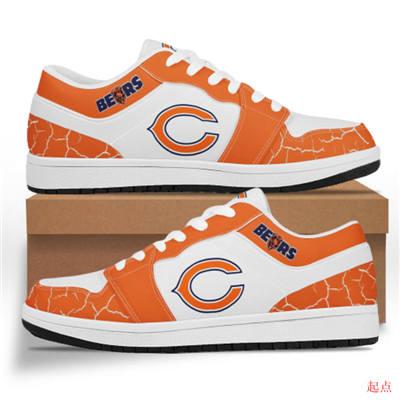 Chicago Bears 2020 Football Team Logo Sneakers