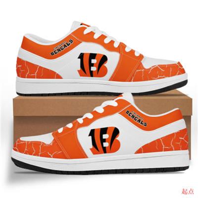 Cincinnati Bengals 2020 Football Team Logo Sneakers