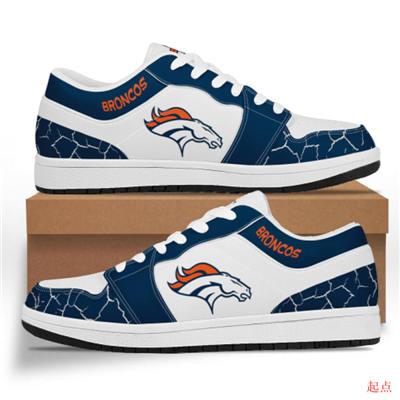 Denver Broncos 2020 Football Team Logo Sneakers