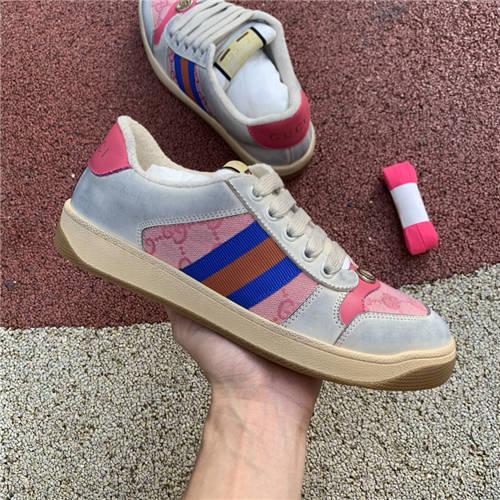 G-U-C-C-I Screener Leather Sneakers (1)