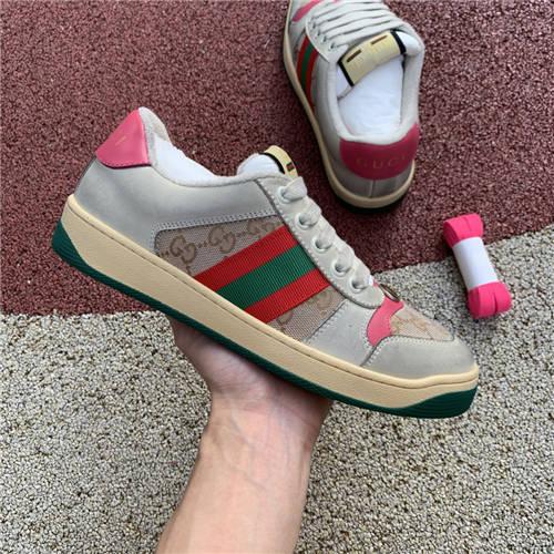 G-U-C-C-I Screener Leather Sneakers (2)