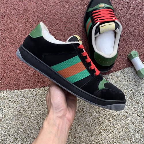 G-U-C-C-I Screener Leather Sneakers (3)