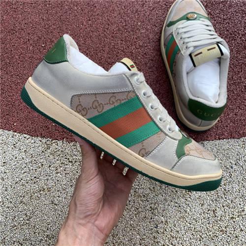 G-U-C-C-I Screener Leather Sneakers (4)