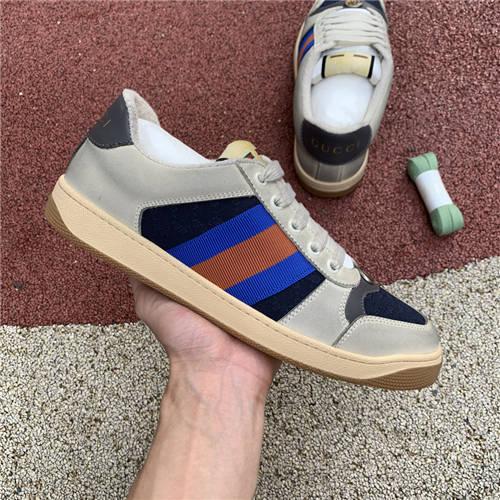 G-U-C-C-I Screener Leather Sneakers (5)