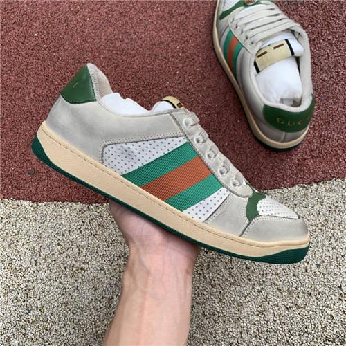 G-U-C-C-I Screener Leather Sneakers (6)