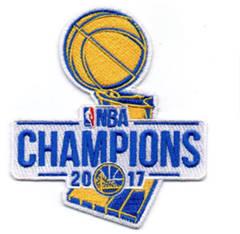 Golden State Warriors 2017 Basketball Finals Champions Patch
