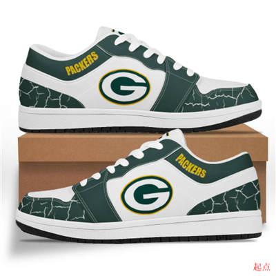 Green Bay Packers 2020 Football Team Logo Sneakers
