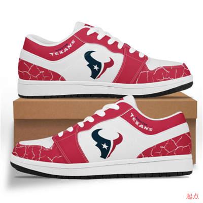 Houston Texans 2020 Football Team Logo Sneakers
