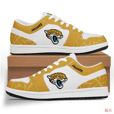 Jacksonville Jaguars 2020 Football Team Logo Sneakers