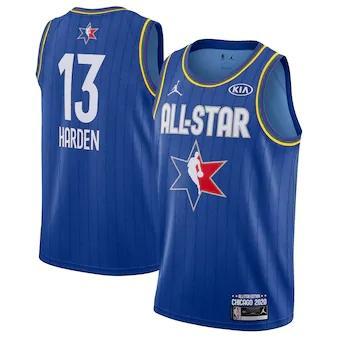 James Harden 2020 All-Star Game Swingman Basketball Jersey - Blue