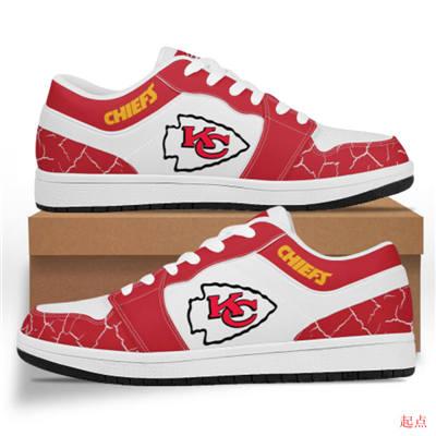 Kansas City Chiefs 2020 Football Team Logo Sneakers