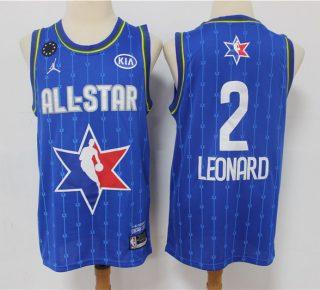 Kawhi Leonard 2020 All-Star Game Swingman Basketball Jersey - Blue