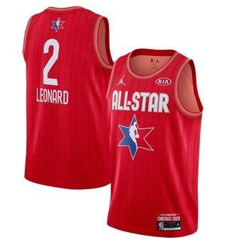 Kawhi Leonard 2020 All-Star Game Swingman Basketball Jersey - Red