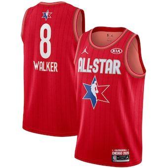 Kemba Walker 2020 All-Star Game Swingman Basketball Jersey - Red