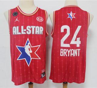 Kobe Bryant 2020 All-Star Game Swingman Basketball Jersey - Red
