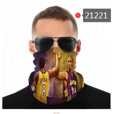 Kobe Bryant Neck Gaiter Face Covering (21221)