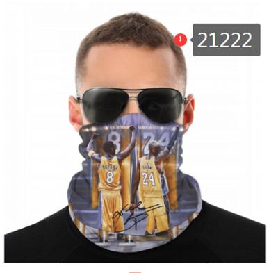 Kobe Bryant Neck Gaiter Face Covering (21222)