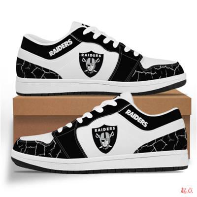 Las Vegas Raiders 2020 Football Team Logo Sneakers