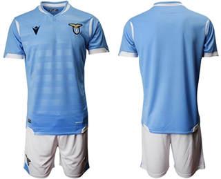 Lazio Blank Home Soccer Club Jersey