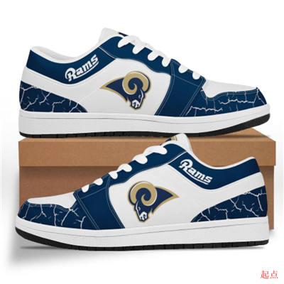 Los Angeles Rams 2020 Football Team Logo Sneakers