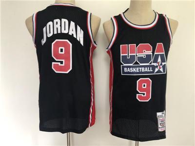 Men's 1992 USA Basketball Team #9 Michael Jordan M&N Jersey