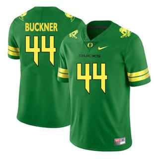 Men's 2019 Oregon Ducks #44 DeForest Buckner Green Football Jersey 2