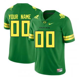 Men's 2019 Oregon Ducks Custom Name Number Green NCAA Football Jersey
