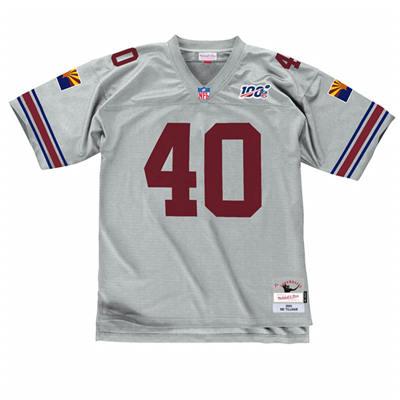 Men's Arizona Cardinals #40 Pat Tillman Grey Stitched Jersey