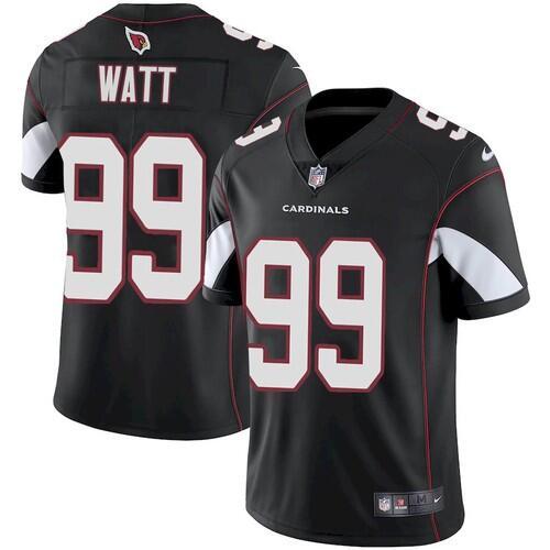 Men's Arizona Cardinals #99 J.J. Watt Black Football Vapor Untouchable Limited Stitched Jersey