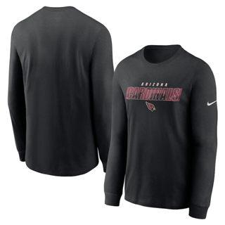 Men's Arizona Cardinals Fan Gear Playbook Long Sleeve T-Shirt Black