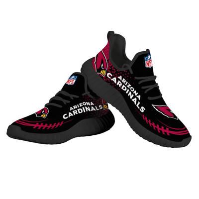 Men's Arizona Cardinals Mesh Knit Sneakers 3