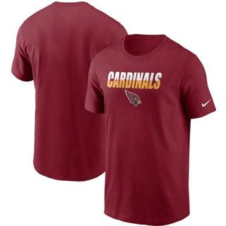 Men's Arizona Cardinals Split T-Shirt Cardinal