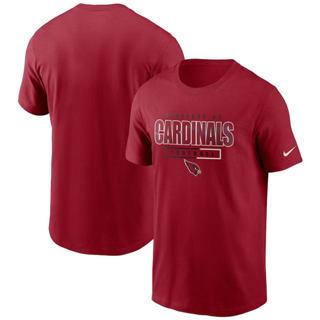 Men's Arizona Cardinals Team Property Of Essential T-Shirt Cardinal