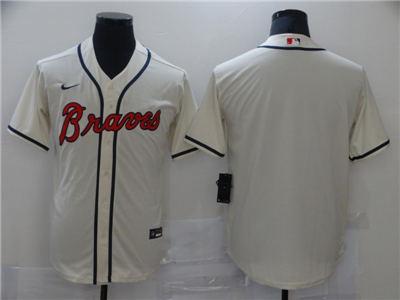 Men's Atlanta Braves Cool Base Stitched Baseball Jersey
