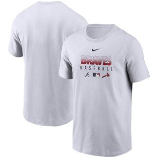 Men's Atlanta Braves White Authentic Collection Team Performance T-Shirt