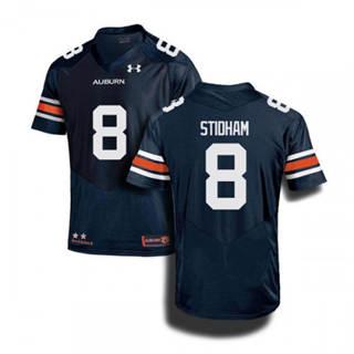 Men's Auburn Tigers #8 Jarrett Stidham Navy 2019 College Football Jersey