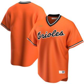 Men's Baltimore Orioles 2020 Alternate Cooperstown Collection Team Baseball Jersey Orange