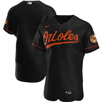 Men's Baltimore Orioles Blank Black Flex Base Stitched Baseball Jersey