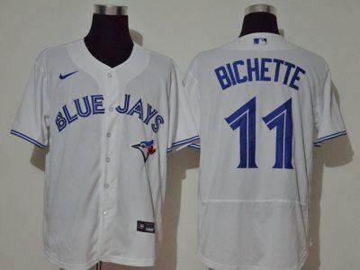 Men's Blue Jays #11 Bo Bichette White 2020 Baseball Jersey