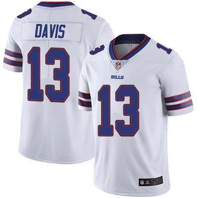 Men's Buffalo Bills #13 Gabriel Davis White Vapor Untouchable Limited Stitched Football Jersey