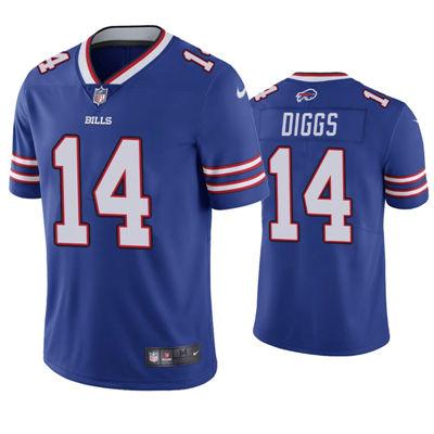 Men's Buffalo Bills #14 Stefon Diggs 2021 Vapor Untouchable Limited Royal Jersey
