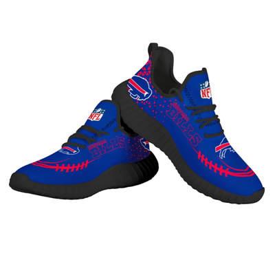 Men's Buffalo Bills Mesh Knit Sneakers 1