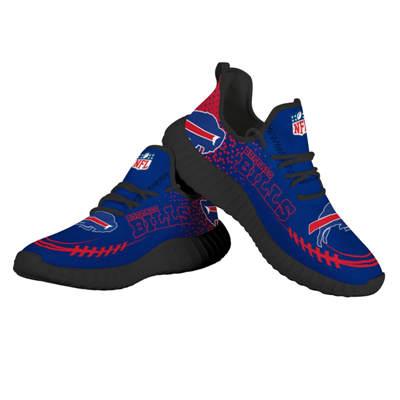 Men's Buffalo Bills Mesh Knit Sneakers 2