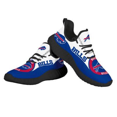 Men's Buffalo Bills Mesh Knit Sneakers 3