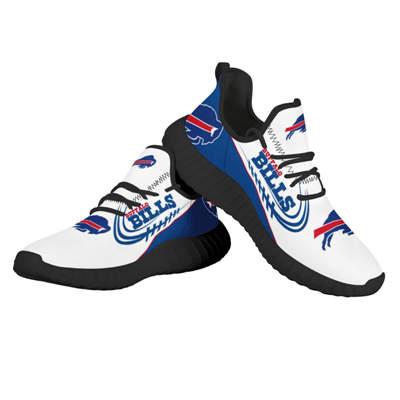 Men's Buffalo Bills Mesh Knit Sneakers 4