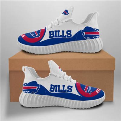 Men's Buffalo Bills Mesh Knit Sneakers 5