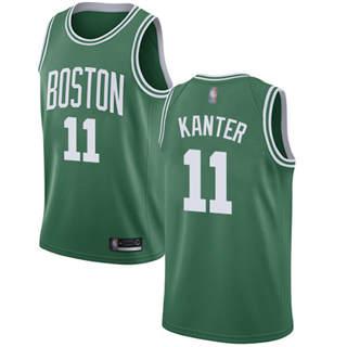 Men's Celtics #11 Enes Kanter Green Basketball Swingman Icon Edition Jersey